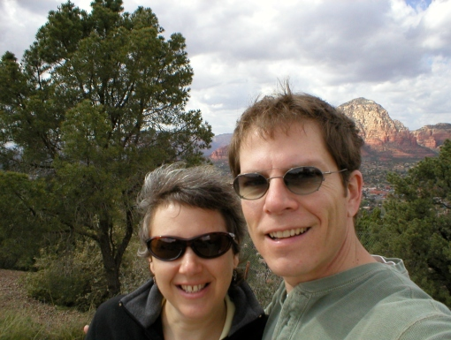 We commemorated quitting my job with a trip to Sedona and Vegas